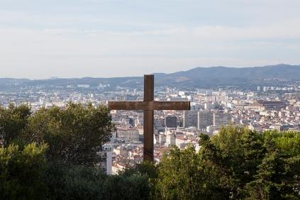Marsilya Katedraldan manzara